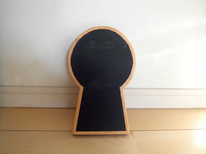 前方後円墳黒板