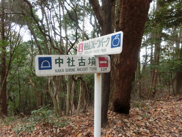 名古屋市 志段味古墳群ツアーその5:中社古墳