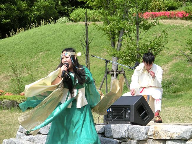 大安場史跡公園 まりこふんライブ