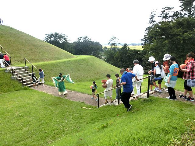 大安場史跡公園「古墳まつり秋」に参加しました!