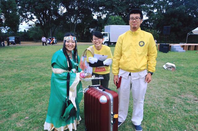 生目古墳群DEフェスタ2016に出演したよ。