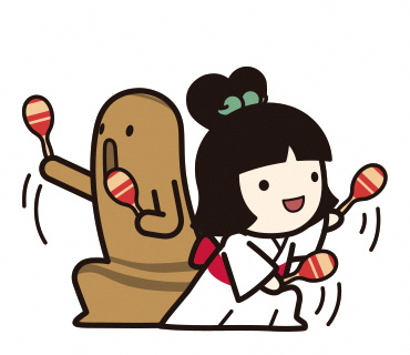 まりこふんの楽曲「しだみこぷんぷん」の振付を募集します!(名古屋市歴史の里しだみ古墳群)